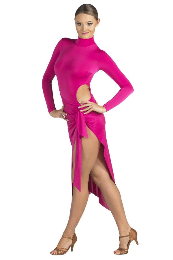 Zeta Latin Dress Amarant <br/> P18120010-04