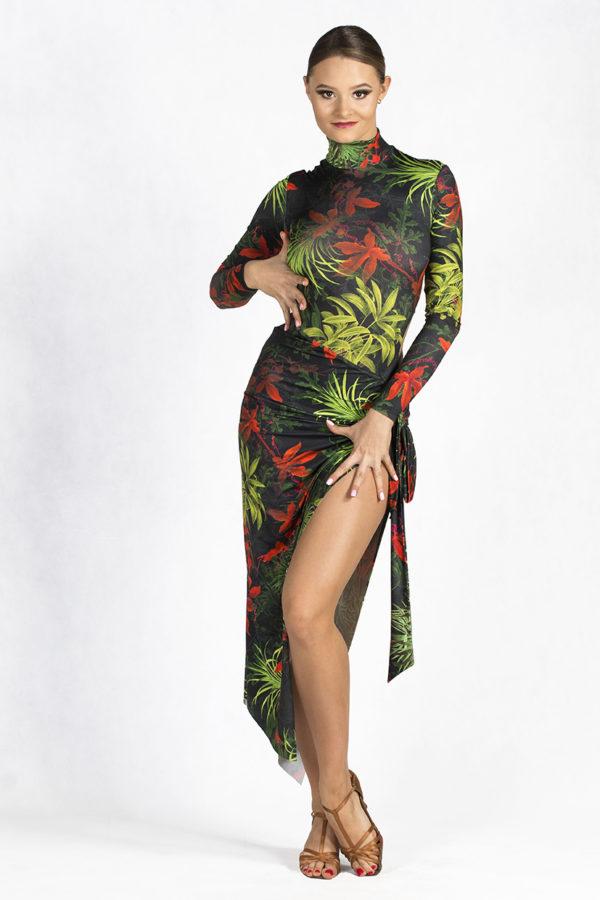 Zeta Latin Dress Tripical <br/> P18120010-06