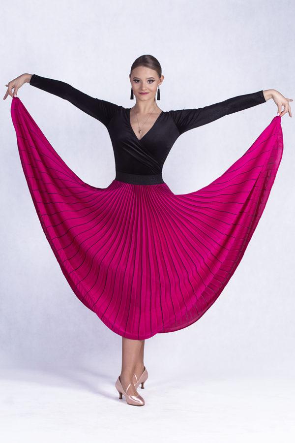Marilyn Pleated Skirt Amarant<br/> P19120011-03