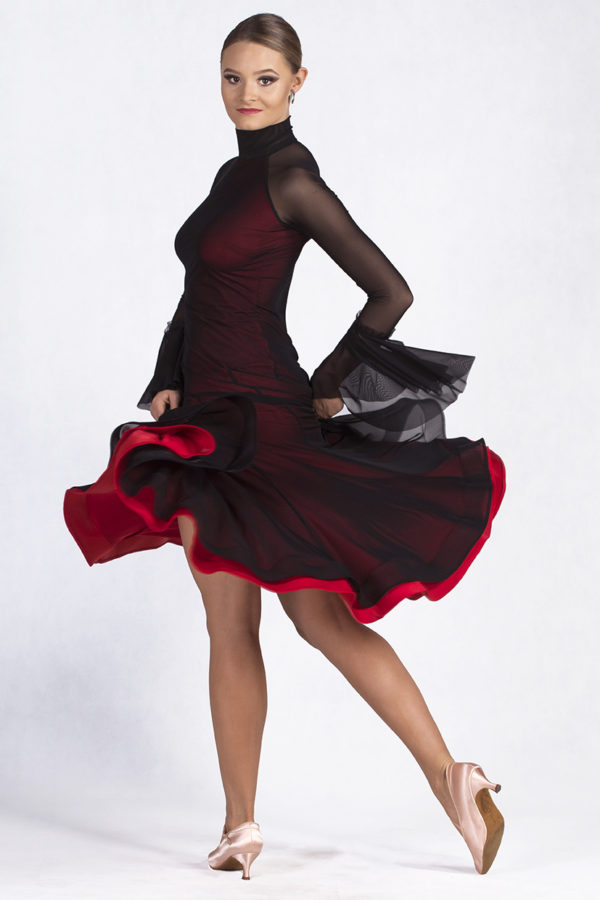 Park Ave Dress Red <br/> P19120013-01