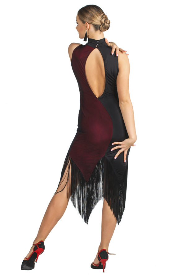 Rockefeller Latin Dress Red <br/> P19120018-01