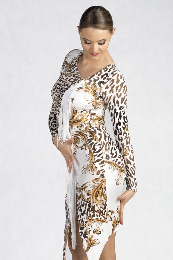 Jackie O Latin Dress Gianni <br/> P19120019-03