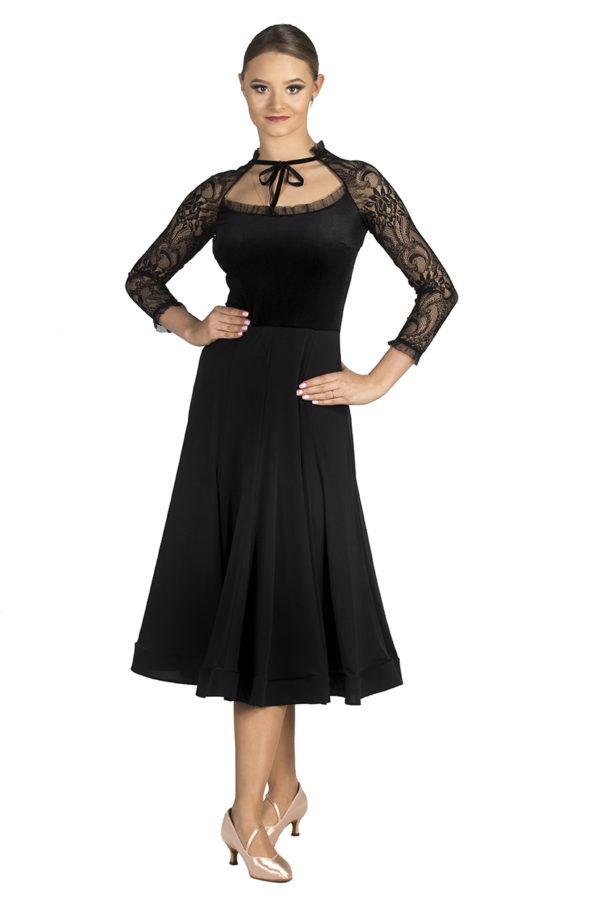 West Side Lace Dress Black <br/> P19120023-01