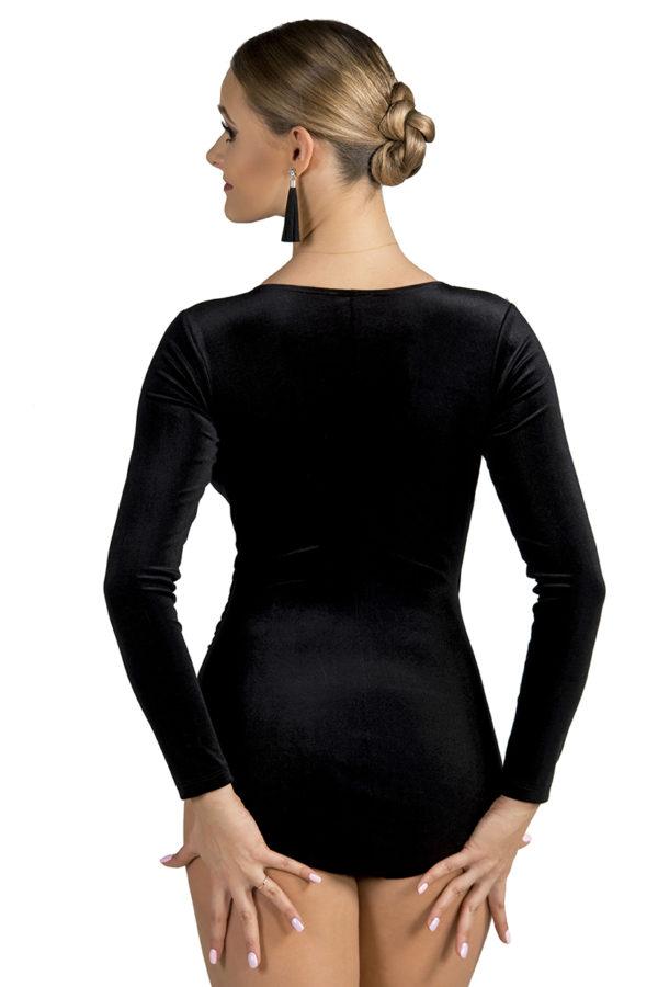 Soho Cross Over Velvet Body Black <br/> P19120028-01