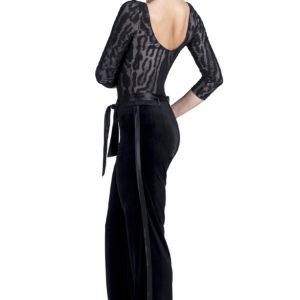 Maddison Velvet Pant Black <br/> P19120029-01