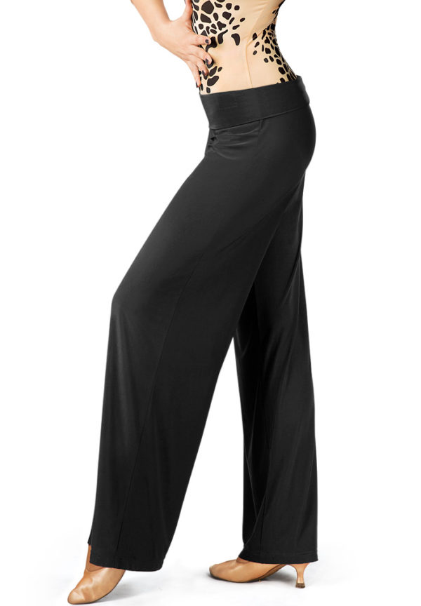 Charlie wide waistband Pant Black <br/> P13120010-01