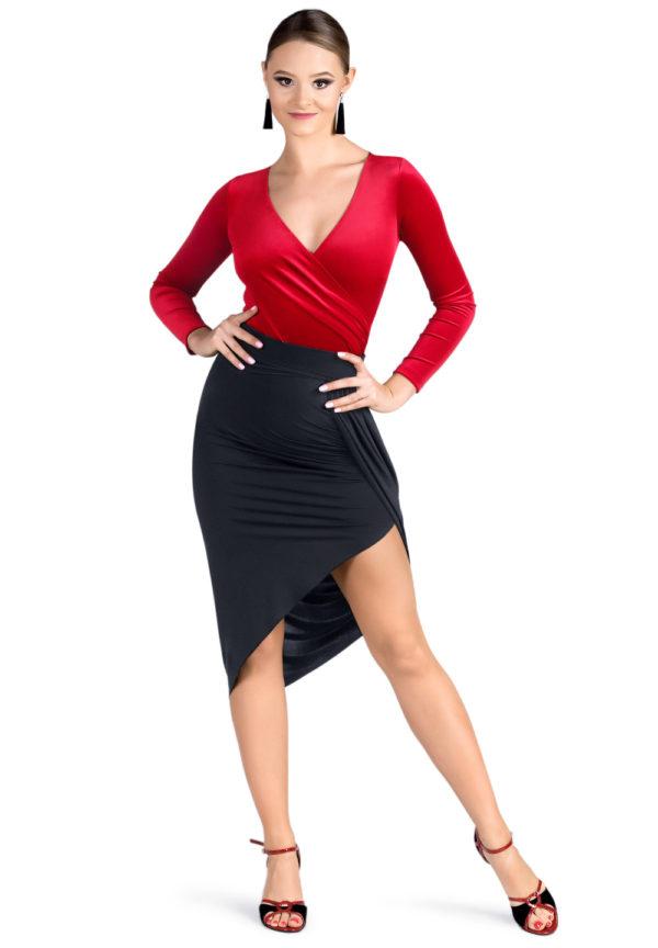 Empire State Skirt Black <br/> P19120016-01