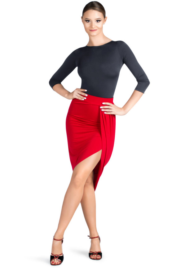 Empire State Skirt Red<br/> P19120016-02