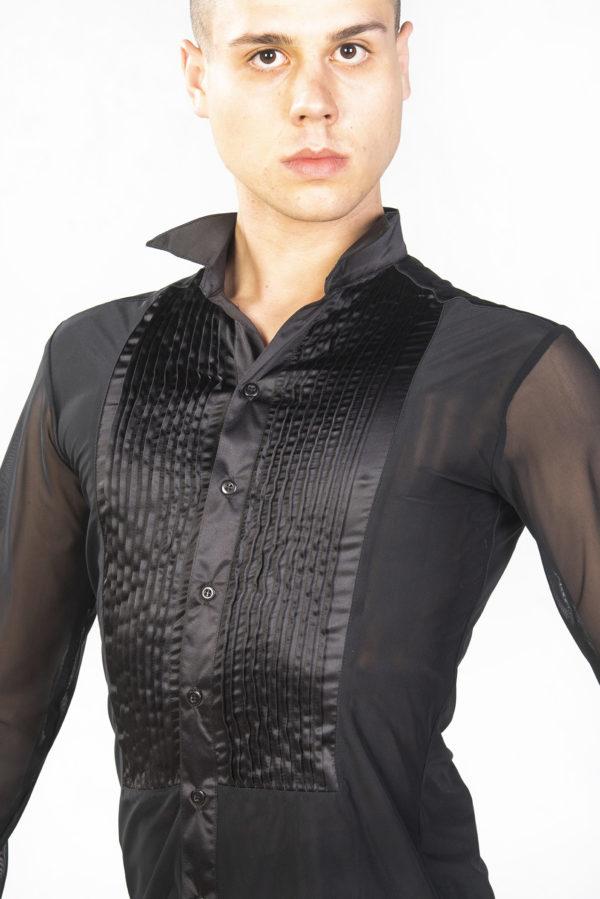 Krystian Shirt Black<br/> M18120001-01
