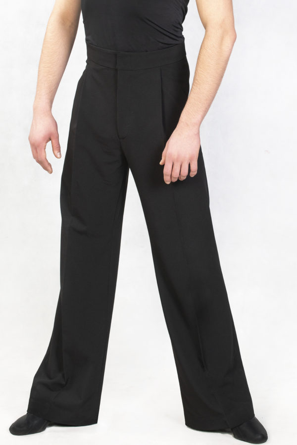 Wide Leg Pant-Black<br/> M18120003-01