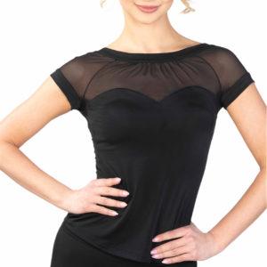 Audrey Top Black <br/> P18120015-01