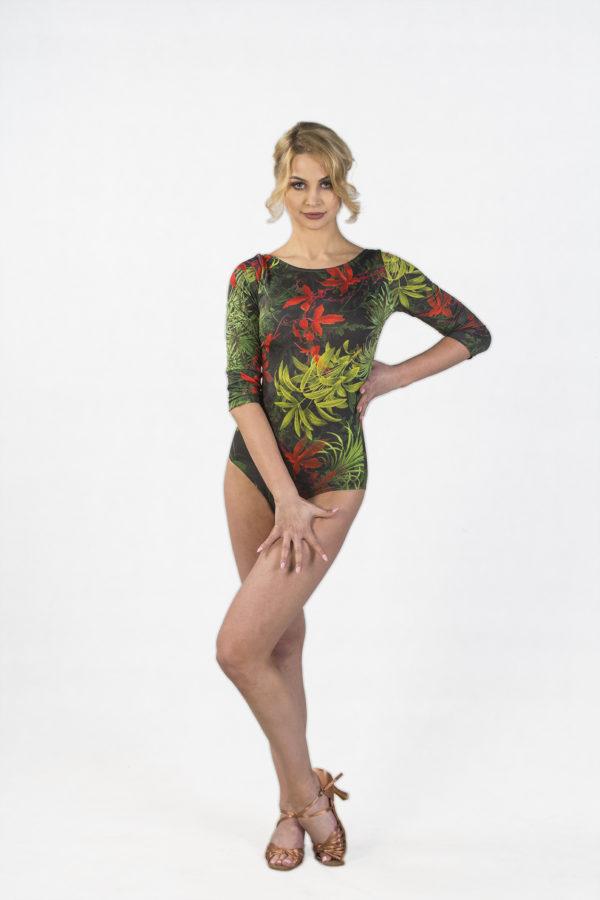 Tropical Print Body <br/> P18120007-04
