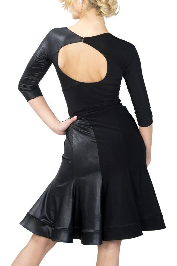 Bologna Latin Dress Black <br/> P18120009-01