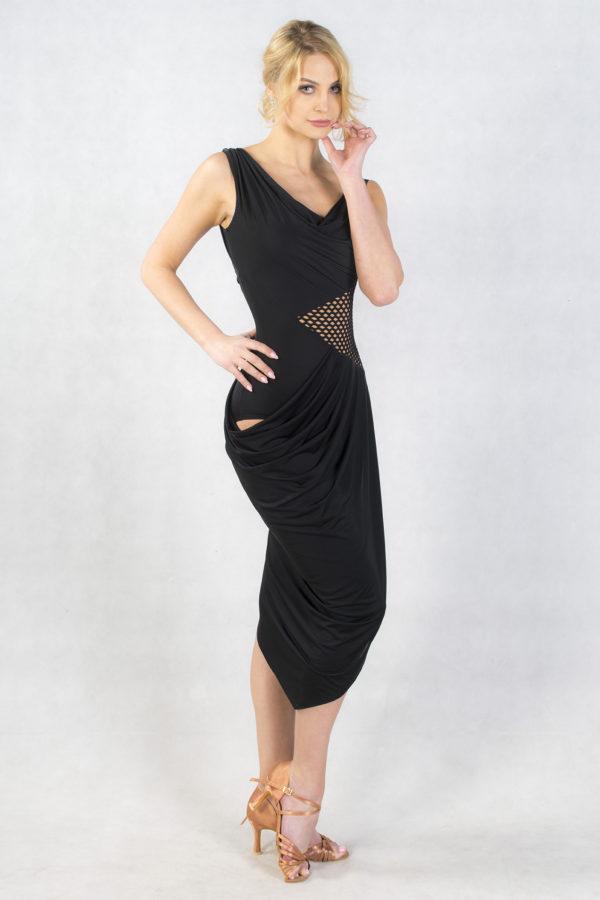 Roma Dress Black <br/> P18120014-01