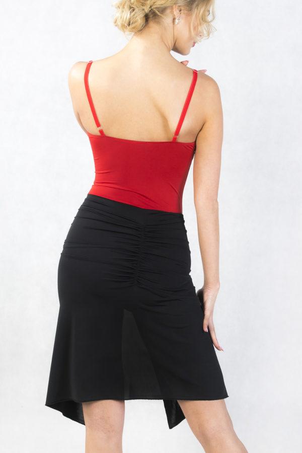 Florence Latin Skirt Black <br/> P18120019-01