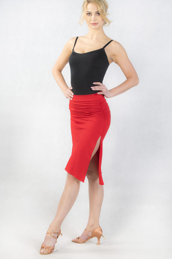 Florence Latin Skirt Red <br/> P18120019-02
