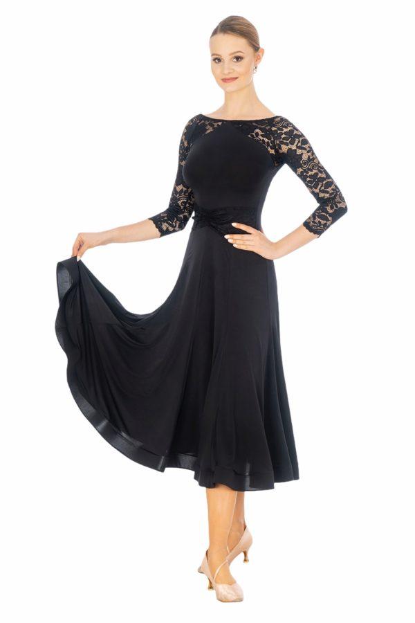 Versailles Ballroom Dress Black <br/> P20120004-01