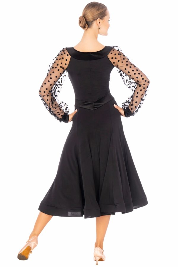 Cannes Ballroom Dress Black <br/> P20120016-01