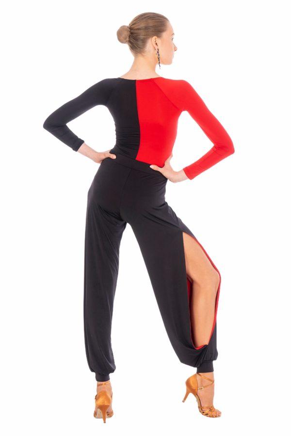 Salsa Pant Black-Red <br/> P20120015-01