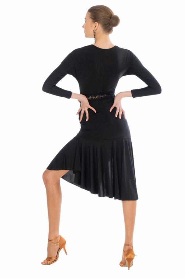 Marlene Latin Dress Black <br/> P20120021-01