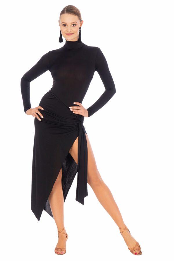 Natasha Latin Dress Black<br/> P20120023-01
