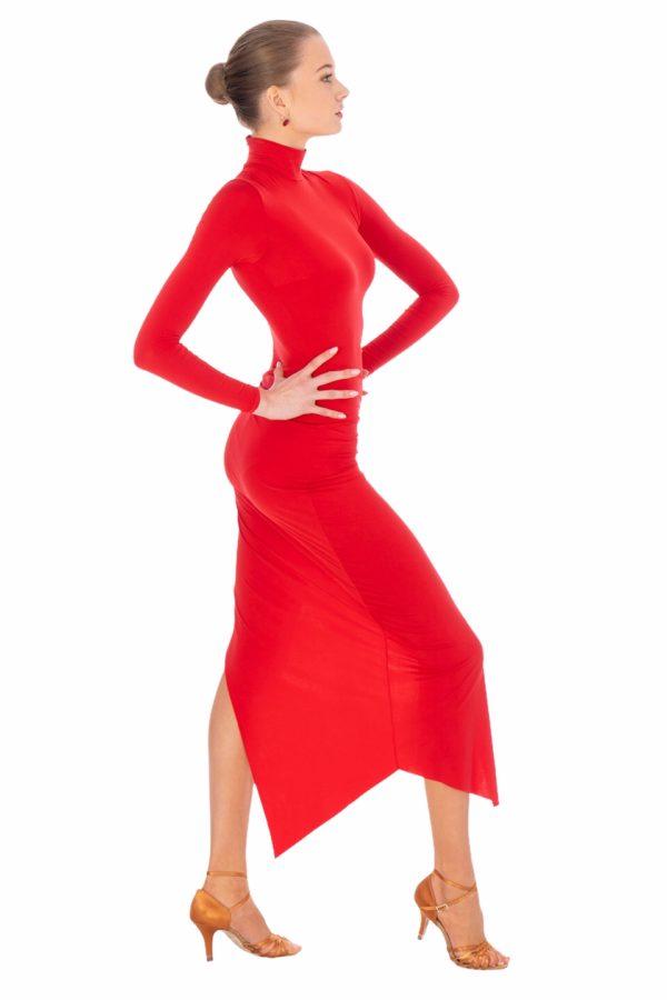 Natasha Latin Dress Red <br/> P20120023-02