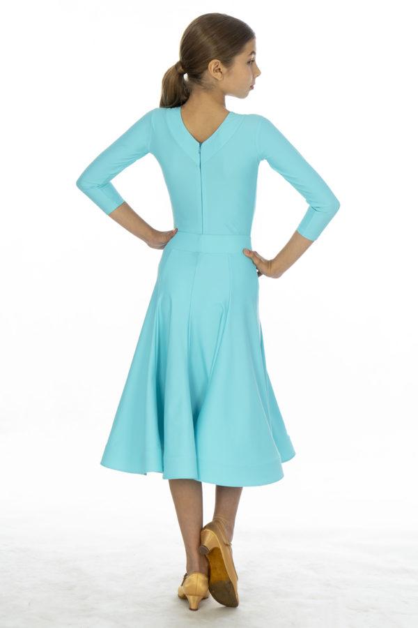 Britney Ballroom Skirt Mint <br/> G20120010-03