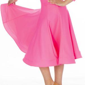 Britney Ballroom Skirt Cerise <br/> G20120010-04
