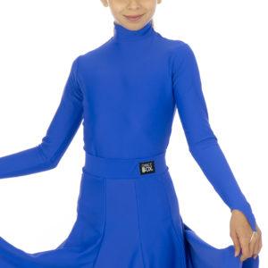 Selena Turtle Neck Lycra Body Cobalt <br/> G20120003-01