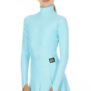 Selena Turtle Neck Lycra Body Mint <br/> G20120003-03