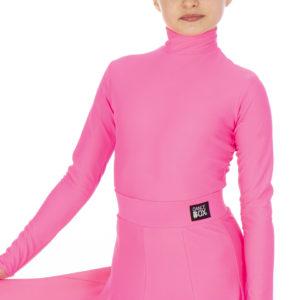 Selena Turtle Neck Lycra Body Cerise <br/> G20120003-04