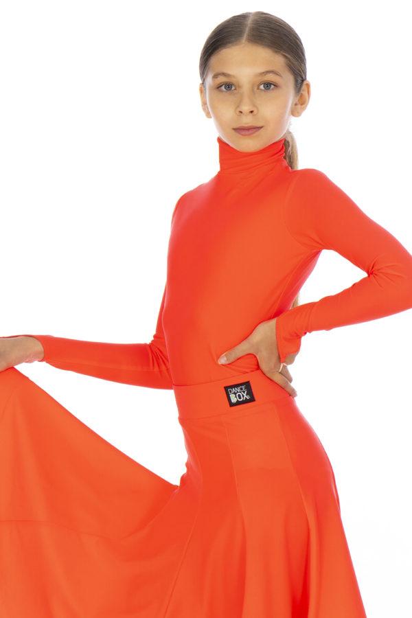 Selena Turtle Neck Lycra Body Fluored <br/> G20120003-05