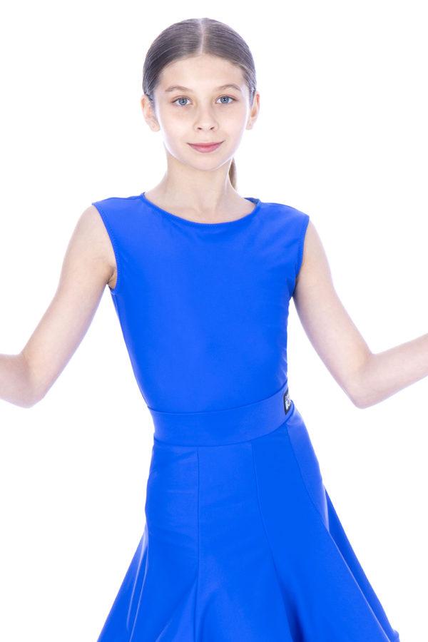 Billie Sleeveless Lycra Body Cobalt <br/> G20120004-01