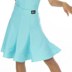 Ariana Latin Lycra Skirt Mint <br/> G20120011-03