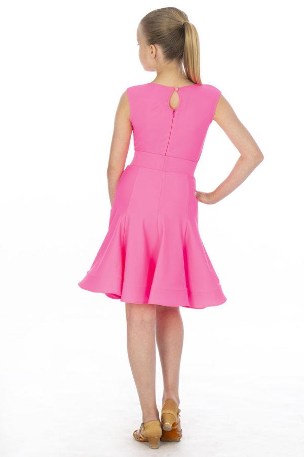 Ariana Latin Lycra Skirt Cerise <br/> G20120011-04