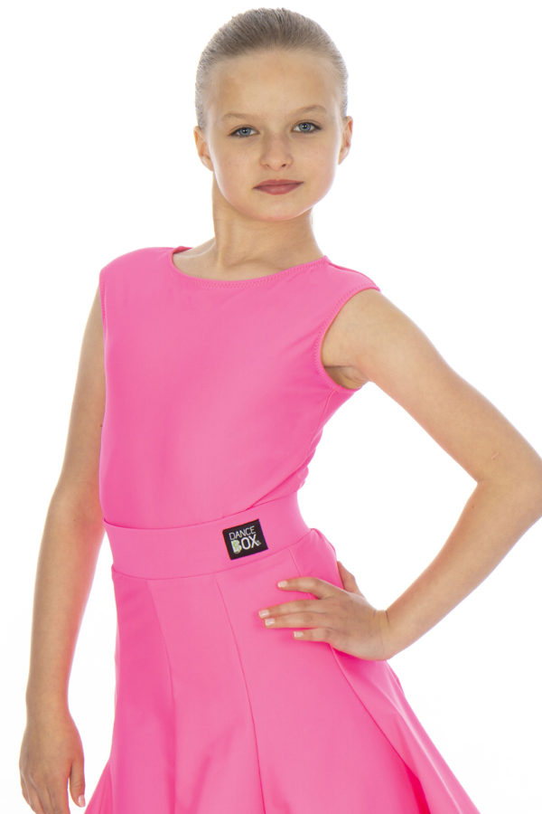 Billie Sleeveless Lycra Body Cerise <br/> G20120004-04