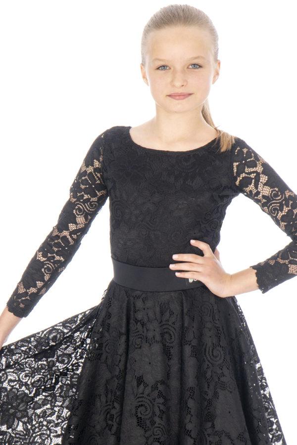 Ashlee Lace Body Black <br/> G20120006-01