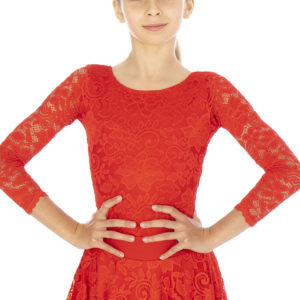 Ashlee Lace Body Red <br/> G20120006-02