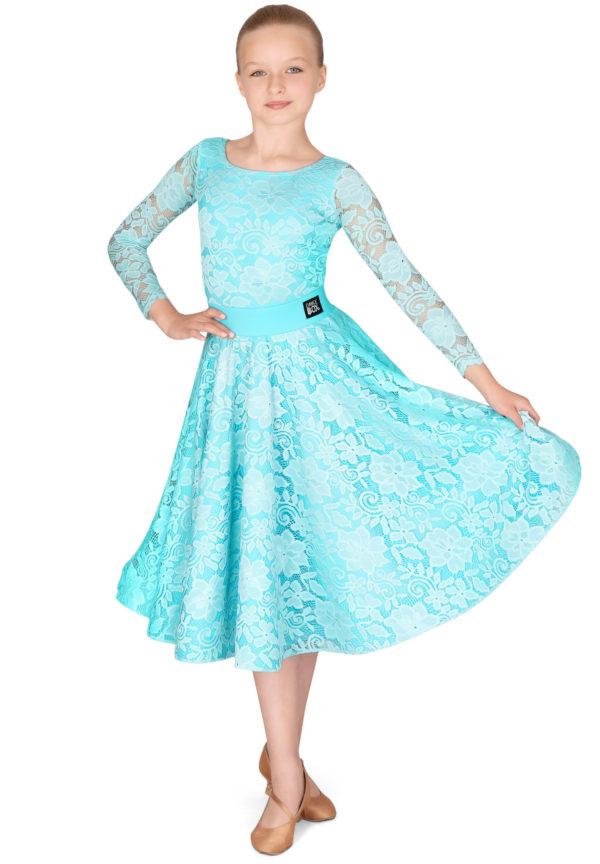 Hailee Lace Ballroom Skirt Mint <br/> G20120013-03