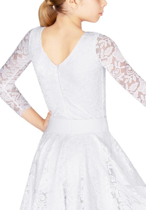 Ashlee Lace Body White <br/> G20120006-04