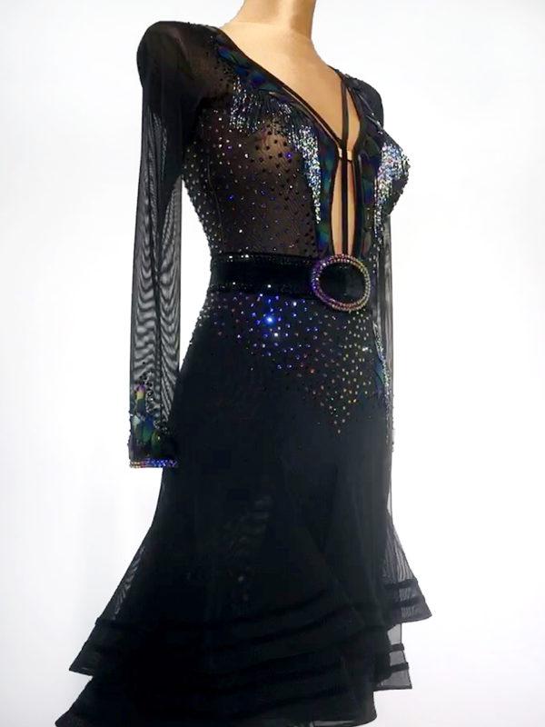 Rainbow Mirror Latin Dress <br/> HC20013