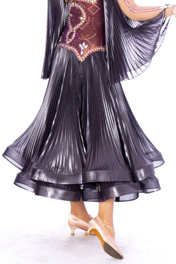 Metalic Shimmer Ballroom Dress <br/> HC20001