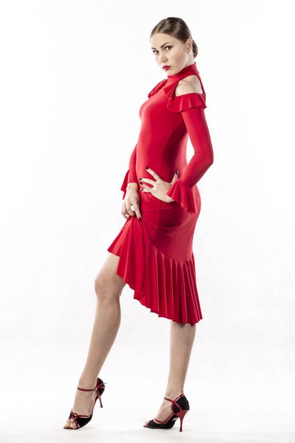 Flamenco Dress Red <br/> P16120026-02
