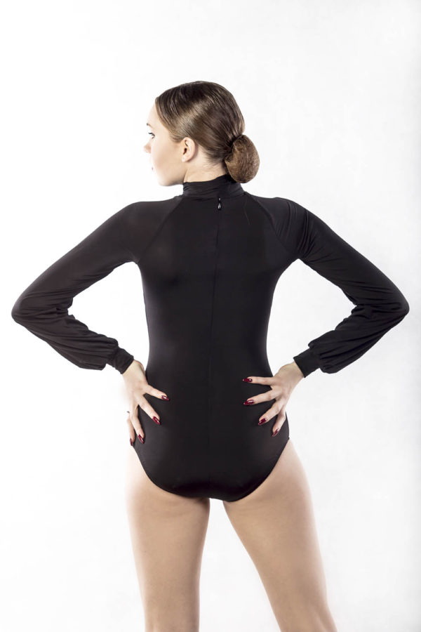 Isabell Neck Tie Body-Black <br/> P17120030-01