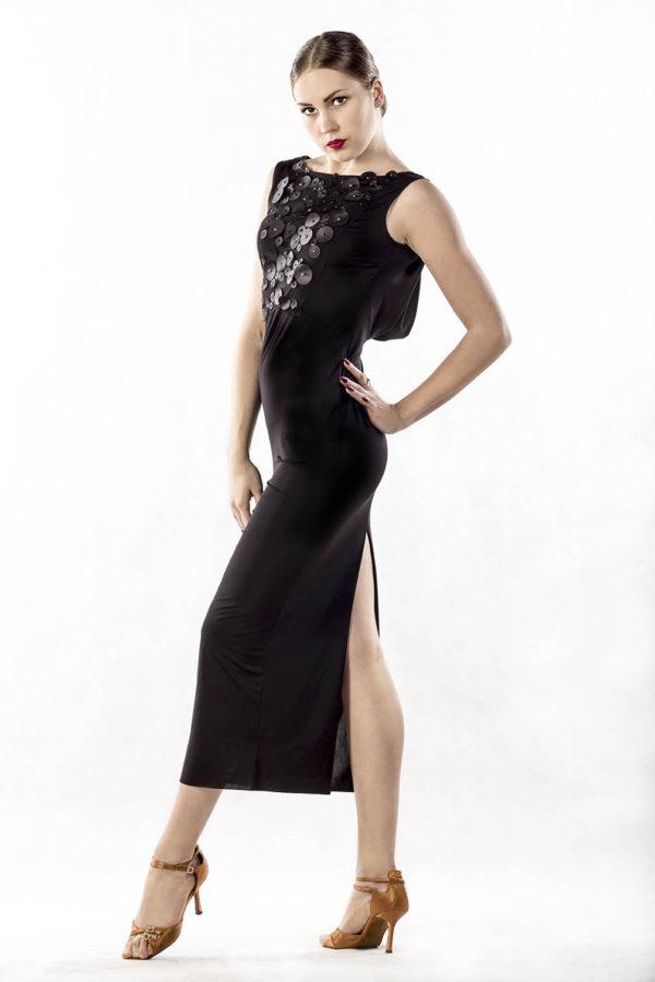 Dotti Dress Black <br/> P17120033-01