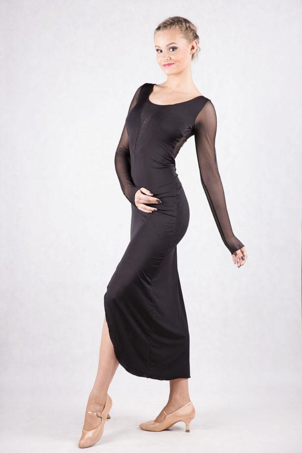 Anastasia Latin Dress Black <br/> P16120011-01