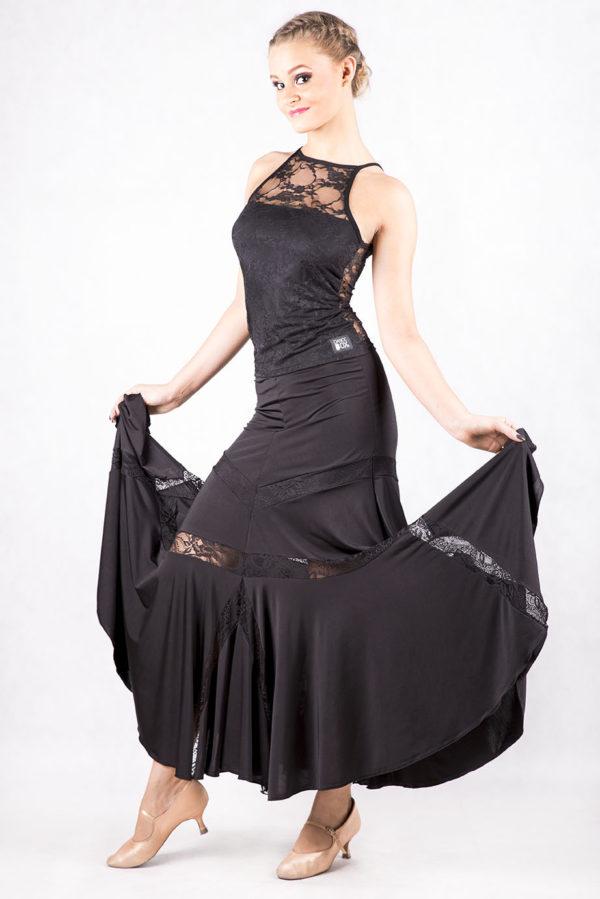 Jenny Ballroom Skirt Black<br/> P16120014-01