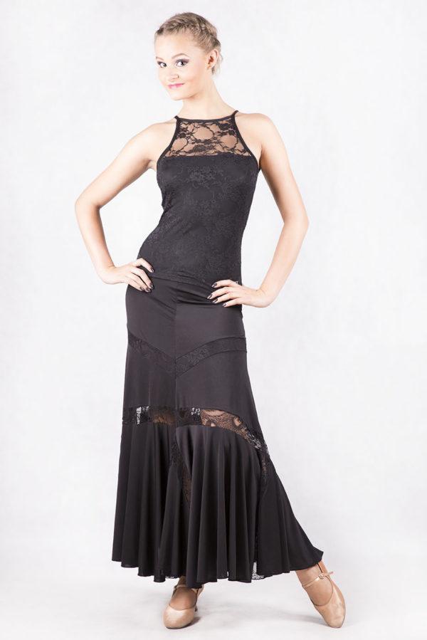 Lola Lace Top Black <br/> P16120019-01